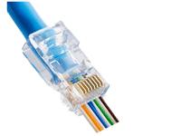 Blue Ethernet Patch
